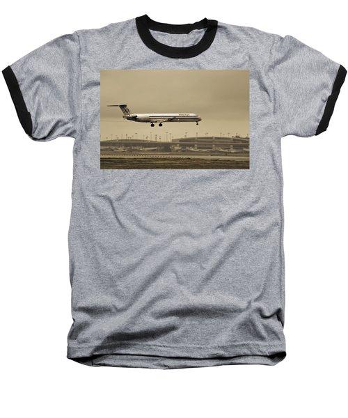 Landing At Dfw Airport Baseball T-Shirt