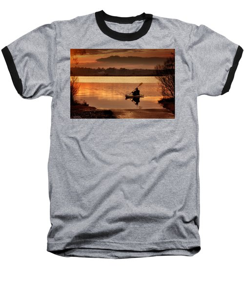 Baseball T-Shirt featuring the photograph Landing by Phil Mancuso