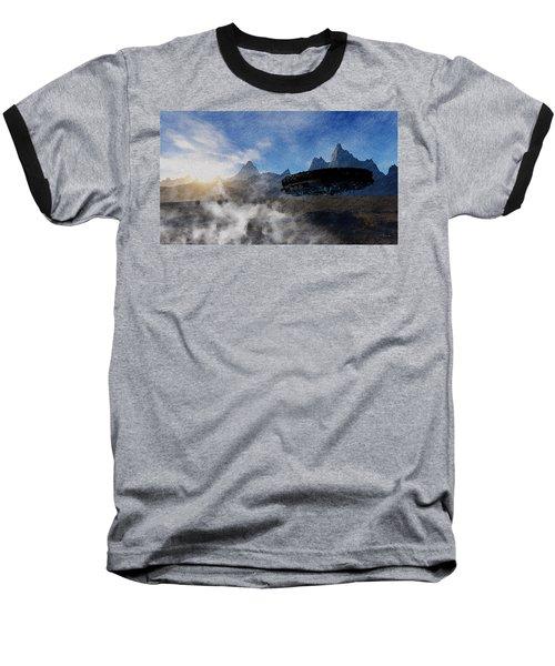 Landing Site Baseball T-Shirt