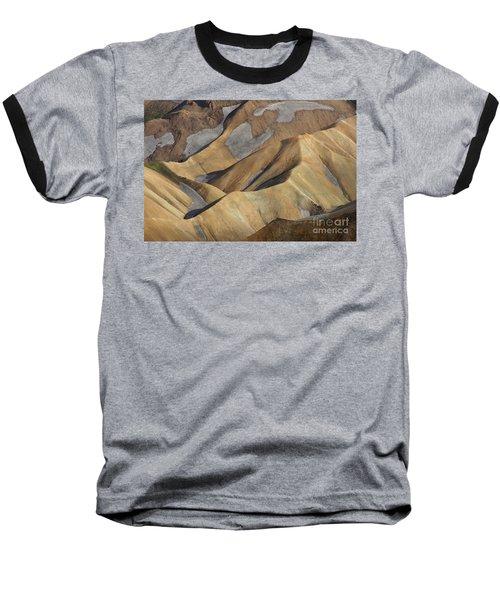 Baseball T-Shirt featuring the photograph Landmannalaugar Natural Art Iceland by Rudi Prott