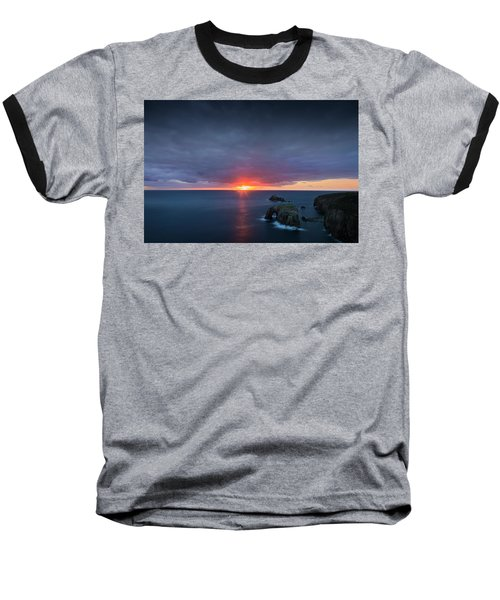 Land's End Baseball T-Shirt by Dominique Dubied