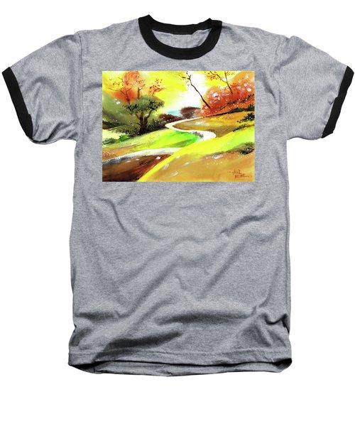 Landscape 6 Baseball T-Shirt