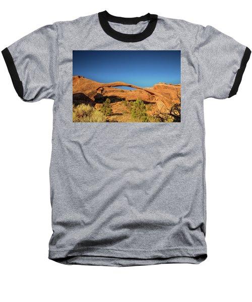 Landscape Arch Sunrise Baseball T-Shirt