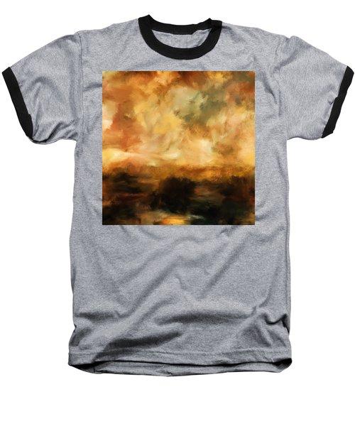 Landscape At Sunset Baseball T-Shirt