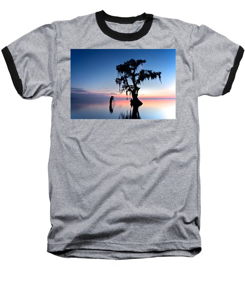 Baseball T-Shirt featuring the photograph Landscape Backstage by Evgeny Vasenev