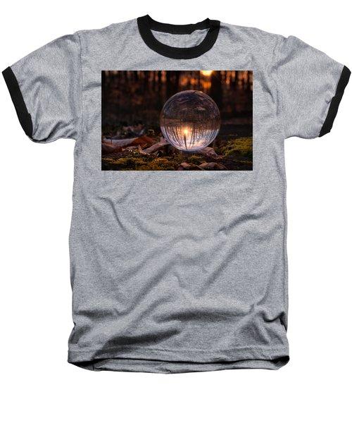 Landscape Baseball T-Shirt by Craig Szymanski