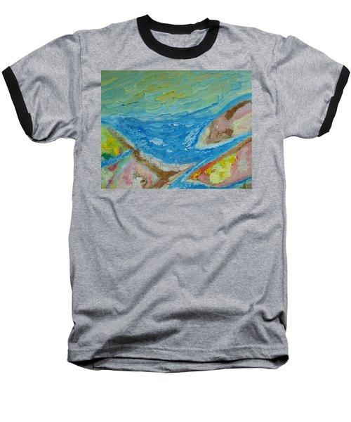 Landscape. Fantasy 12. Top View. Baseball T-Shirt