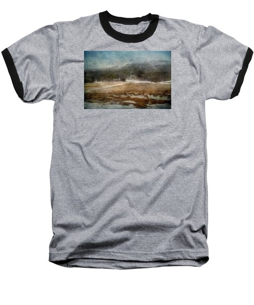 Landscape From Norway Baseball T-Shirt by Vittorio Chiampan