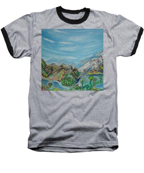 Landscape. Imagination. Baseball T-Shirt