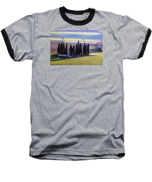 Baseball T-Shirt featuring the photograph Landscape by Jean Bernard Roussilhe