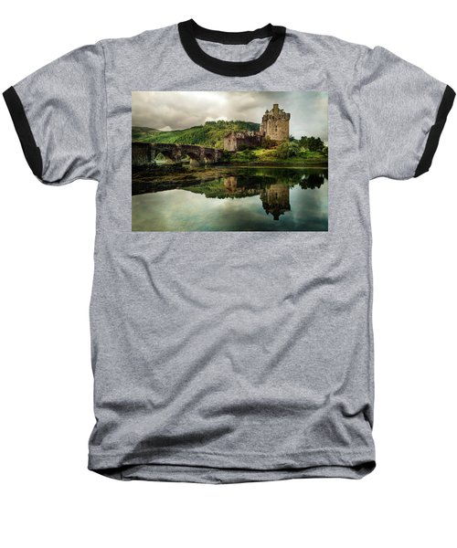 Landscape With An Old Castle Baseball T-Shirt