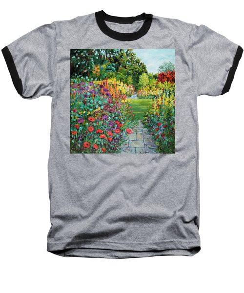 Landscape With Poppies Baseball T-Shirt