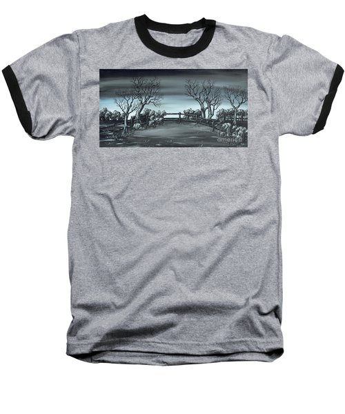 Landsend Baseball T-Shirt by Kenneth Clarke