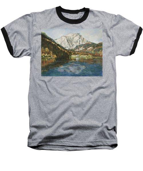 Langbathsee Austria Baseball T-Shirt by Alexandra Maria Ethlyn Cheshire