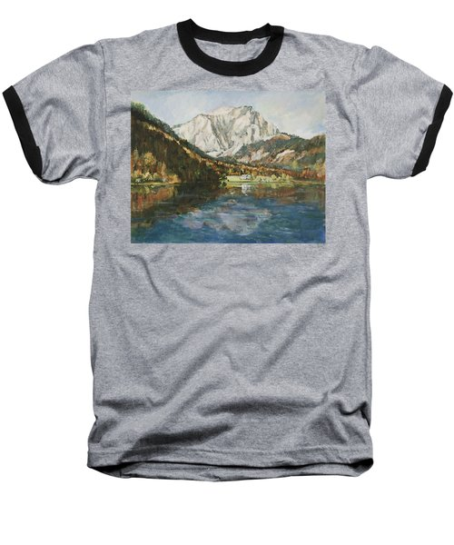 Langbathsee Austria Baseball T-Shirt