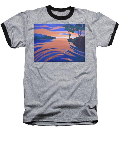 Languid Evening Baseball T-Shirt
