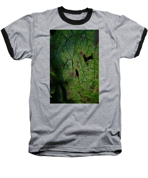 Baseball T-Shirt featuring the photograph Languid Leaf by Adria Trail
