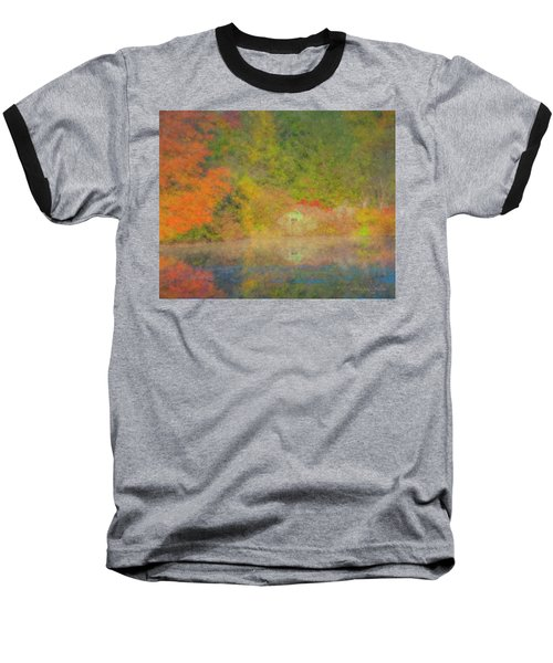 Langwater Pond Boathouse October 2015 Baseball T-Shirt