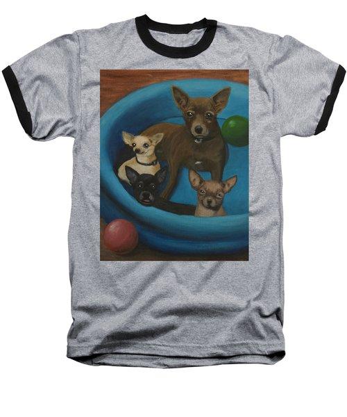 Lanice's Dogs Baseball T-Shirt