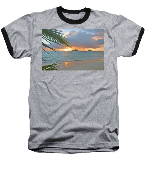 Lanikai Sunrise Baseball T-Shirt