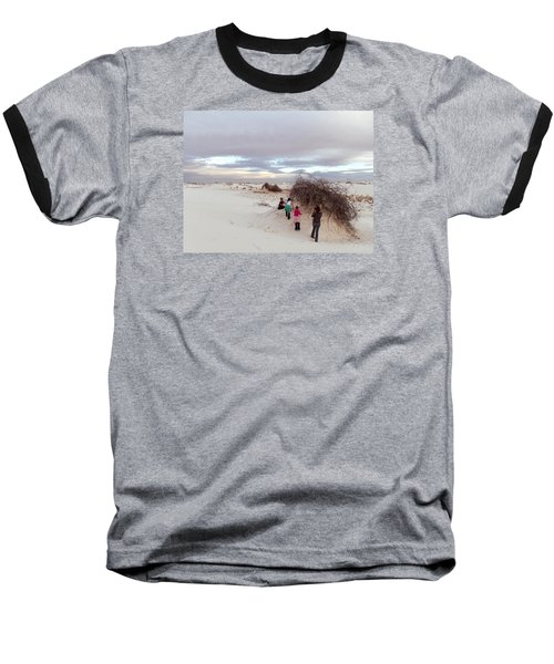 Exploring The Dunes Baseball T-Shirt