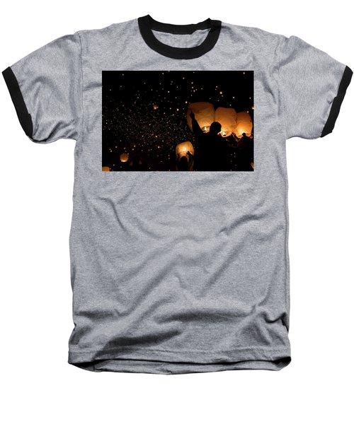 Lantern Fest Group Baseball T-Shirt