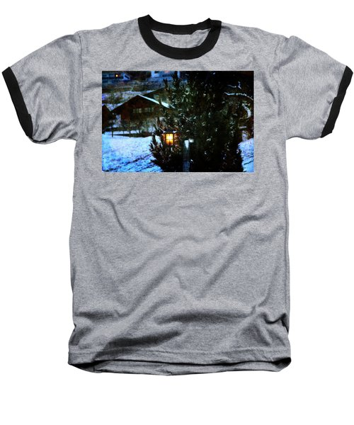 Lantern In The Woods Baseball T-Shirt