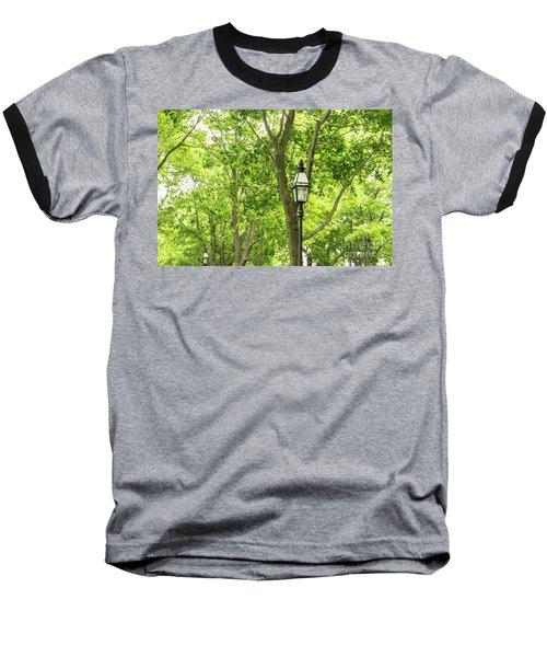 Lanterns Among The Trees Baseball T-Shirt