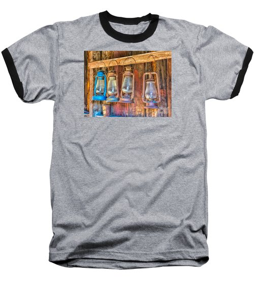 Lanterns In The Bodie Firehouse Baseball T-Shirt