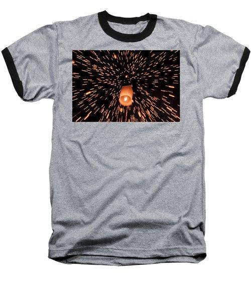 Lanterns In The Sky Baseball T-Shirt