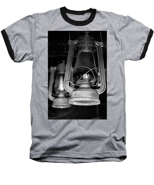 Baseball T-Shirt featuring the photograph Lanterns by Jay Stockhaus