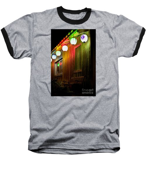 Lanterns Light The Bench Baseball T-Shirt