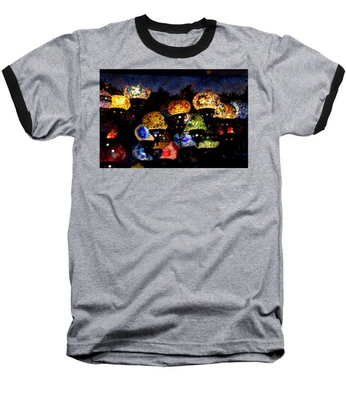 Lanterns - Night Light Baseball T-Shirt