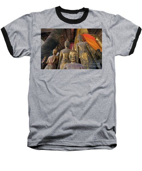 Baseball T-Shirt featuring the photograph Laos_d186 by Craig Lovell
