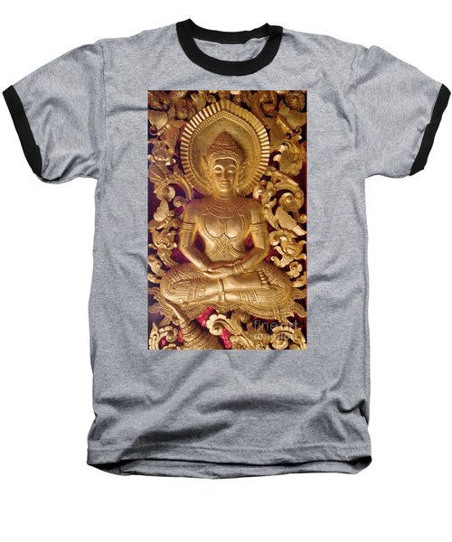 Baseball T-Shirt featuring the photograph Laos_d264 by Craig Lovell