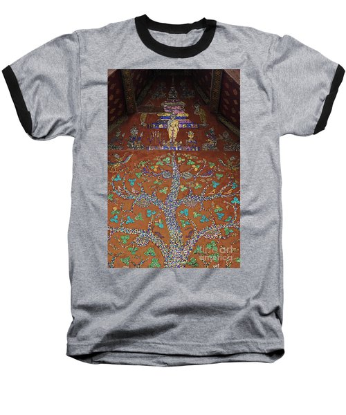 Laos_d92 Baseball T-Shirt by Craig Lovell