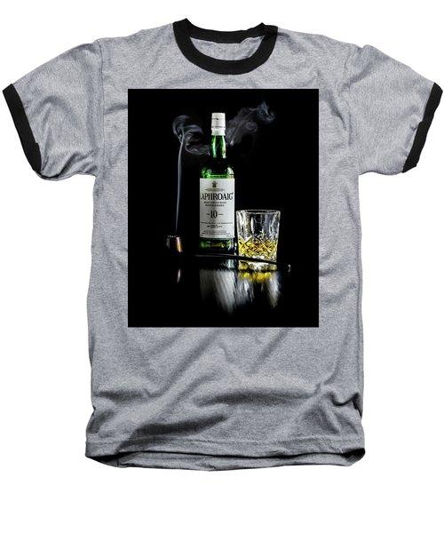 Whiskey And Smoke Baseball T-Shirt