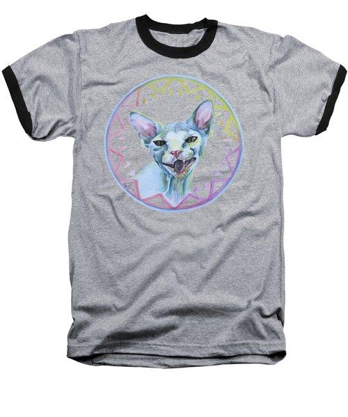 Lara Cat Baseball T-Shirt