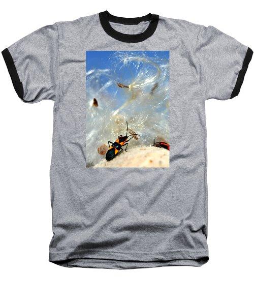 Large Milkweed Bug Baseball T-Shirt