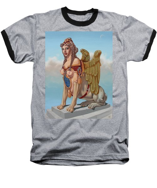 Large Sphinx Of The Vienna Belvedere Baseball T-Shirt