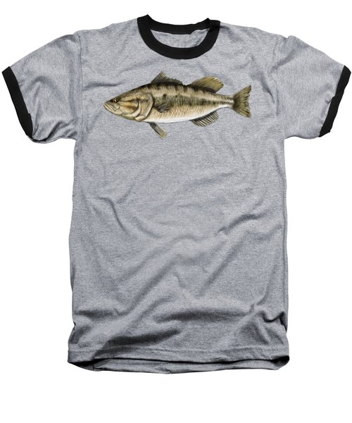Largemouth Bass Baseball T-Shirt