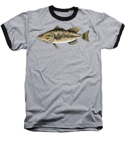 Largemouth Bass Baseball T-Shirt