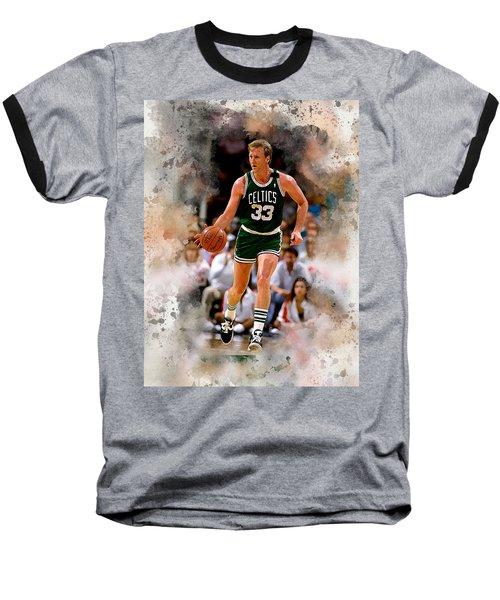 Larry Bird Baseball T-Shirt
