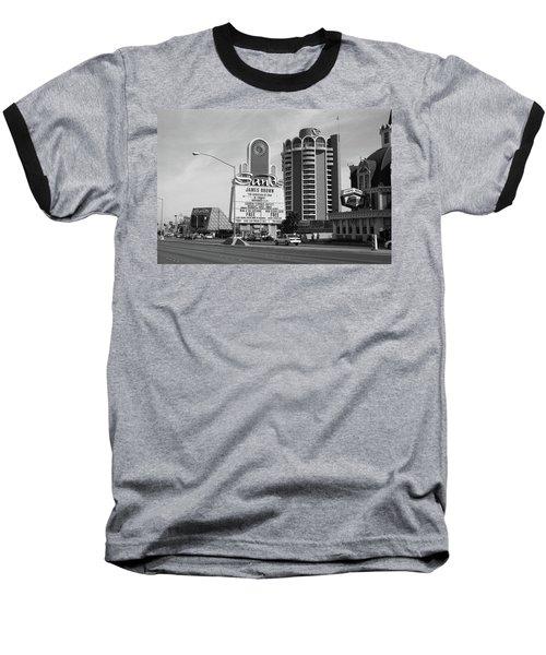 Baseball T-Shirt featuring the photograph Las Vegas 1994 #1 Bw by Frank Romeo