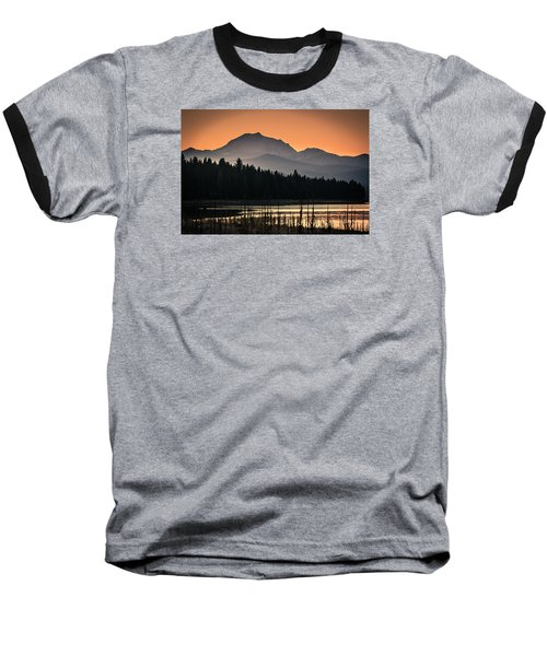 Lassen In Autumn Glory Baseball T-Shirt by Jan Davies