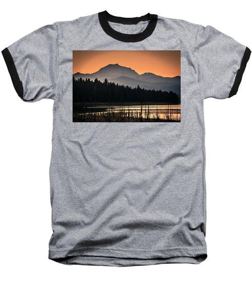 Lassen In Autumn Glory Baseball T-Shirt