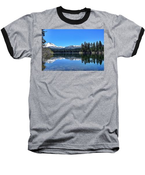 Lassen Volcanic National Park Baseball T-Shirt