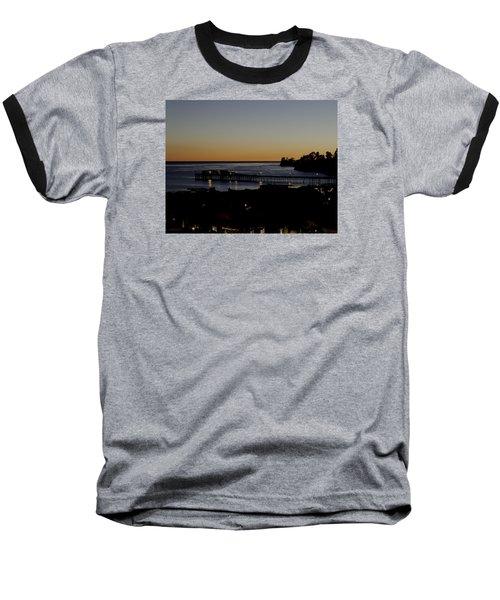 Baseball T-Shirt featuring the photograph Last 2015 Sunset by Lora Lee Chapman