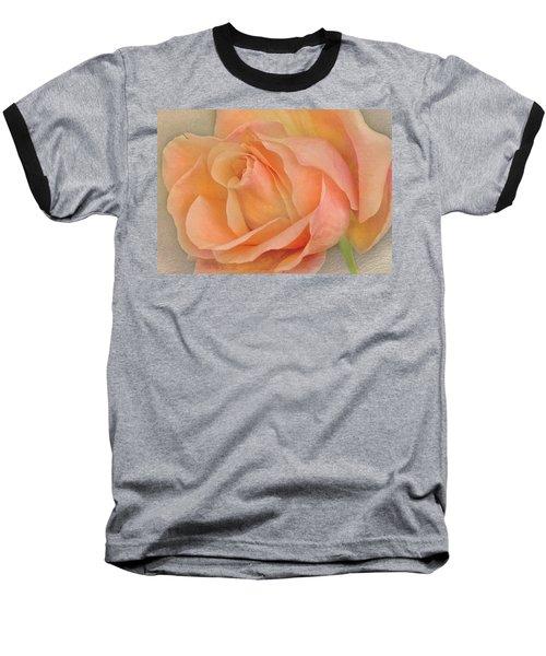 Last Autumn Rose Baseball T-Shirt by Jacqi Elmslie