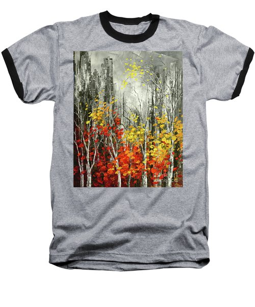 Last Dance Baseball T-Shirt by Tatiana Iliina
